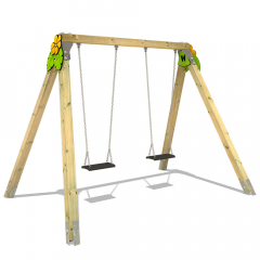 Swing set Wickey PRO MAGIC Leaf