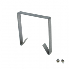 Ground anchor for commercial slide
