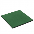 Rubber safety tile 50x50x2.5 cm